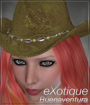 eXotique Buenaventura Themed Hair Anagord