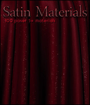 SV's Satin Materials 2D And/Or Merchant Resources Sveva