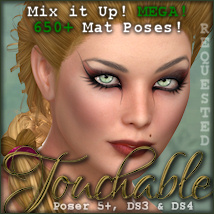 Touchable Hr-113 Hair Themed -Wolfie-