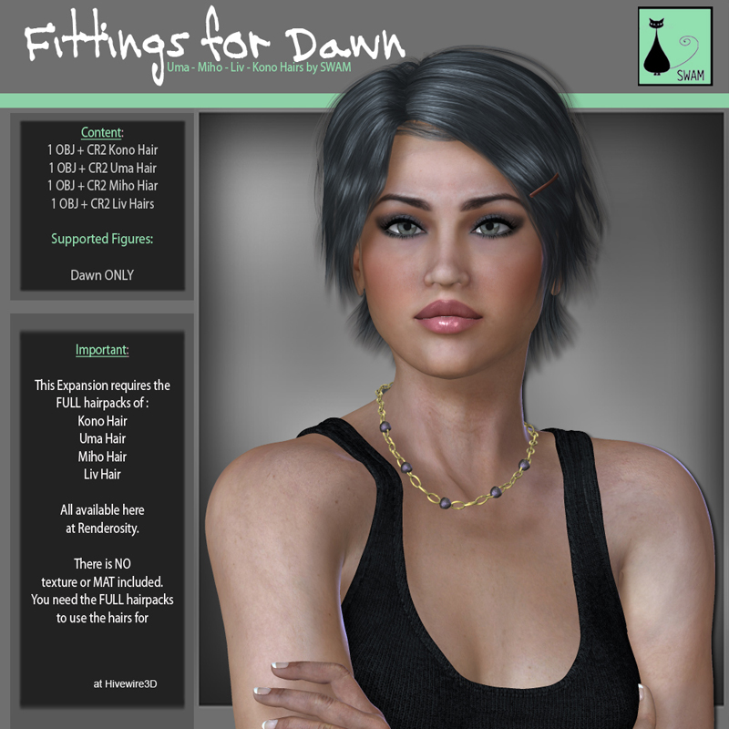 SWAM Hairfit 1: for Dawn