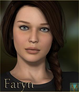 MRL Faryn 3D Figure Essentials 3D Models Mihrelle