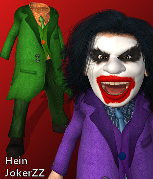 Hein JokerZZ 3D Figure Assets 3D Models Karth