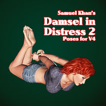 Samuel Khan's Damsel in DIstress 2 Poses For V4 Poses/Expressions SamuelKhan