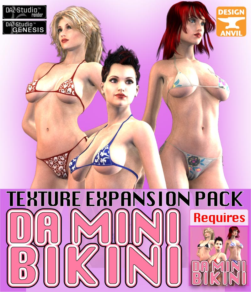 DA Mini Bikini - Texture Expansion