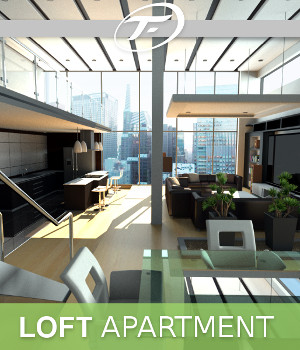 Loft Apartment 3D Models TruForm