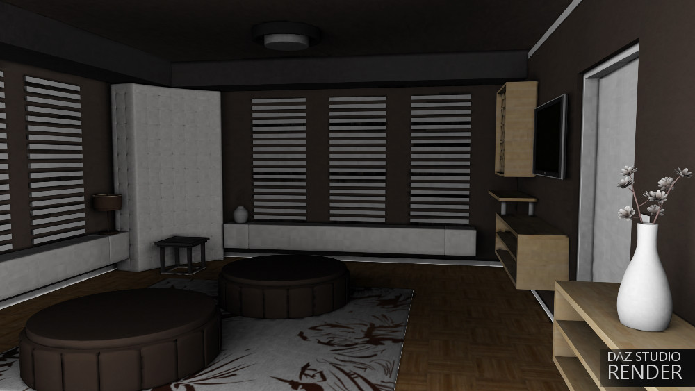 Loft apartment 3d models truform for Apartment 3d model