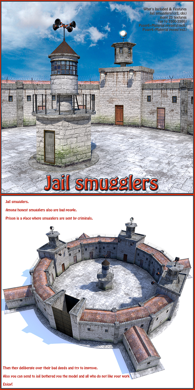 Jail smugglers by 1971s
