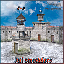 Jail smugglers Props/Scenes/Architecture Themed 1971s