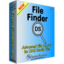 File Finder DS for Windows 3D Figure Essentials Software rolow