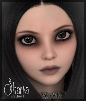 SV7 Sharra 3D Models 3D Figure Essentials Seven