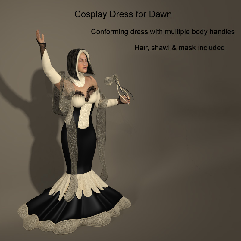 Dawn Cosplay Dress