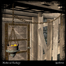 Medieval Fantasy: Lanterns Vol.1 Themed Props/Scenes/Architecture Ravyns