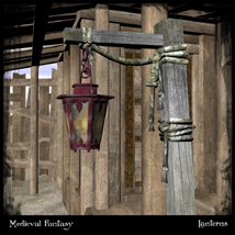 Medieval Fantasy: Lanterns Vol.2 Themed Props/Scenes/Architecture Ravyns