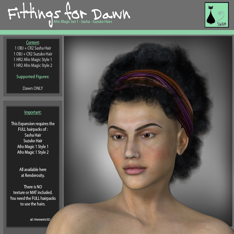 SWAM Hairfit 2: for Dawn