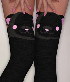 Feel It - Stockings Etc. Dawn Clothing Software Accessories Themed nirvy