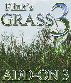 Flinks Grass 3 - Add-on 3 3D Models Flink