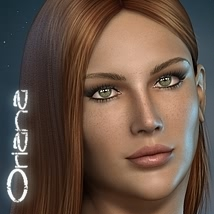 Oriana_for_Dawn 3D Figure Assets fabiana