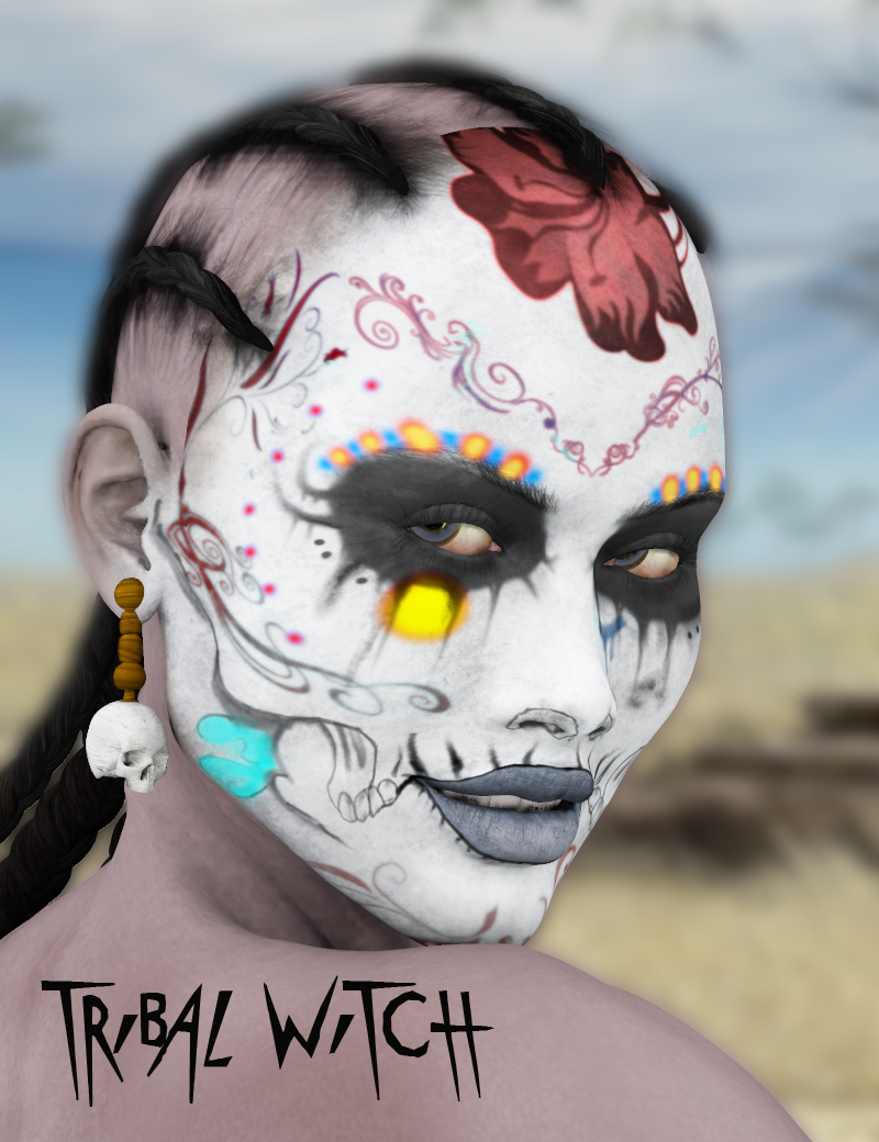 Tribal Witch : Character