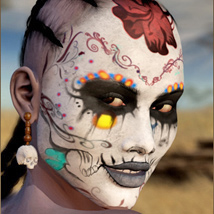 Tribal Witch : Character 3D Figure Essentials Nathalie_