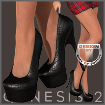 Sexy Pumps for Genesis 2 Female(s) - V6/G6/Gia 3D Figure Assets outoftouch