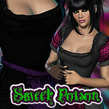 SweetPoison Darkland for V4 & Dawn Clothing 3DSublimeProductions