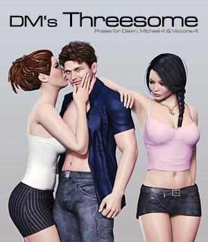 DMs Threesome 3D Figure Essentials 3D Models DM