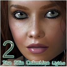 The Skin Collection 2 - Lights for Poser Lights OR Cameras nikisatez