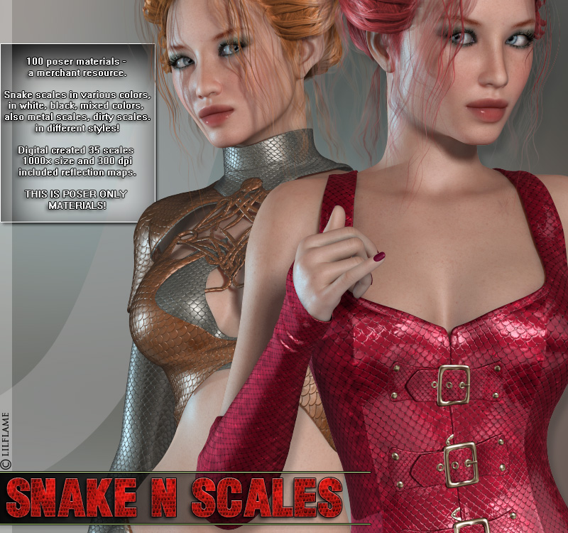Snake N Scales Materials