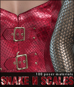 Snake N Scales Materials 2D Graphics lilflame