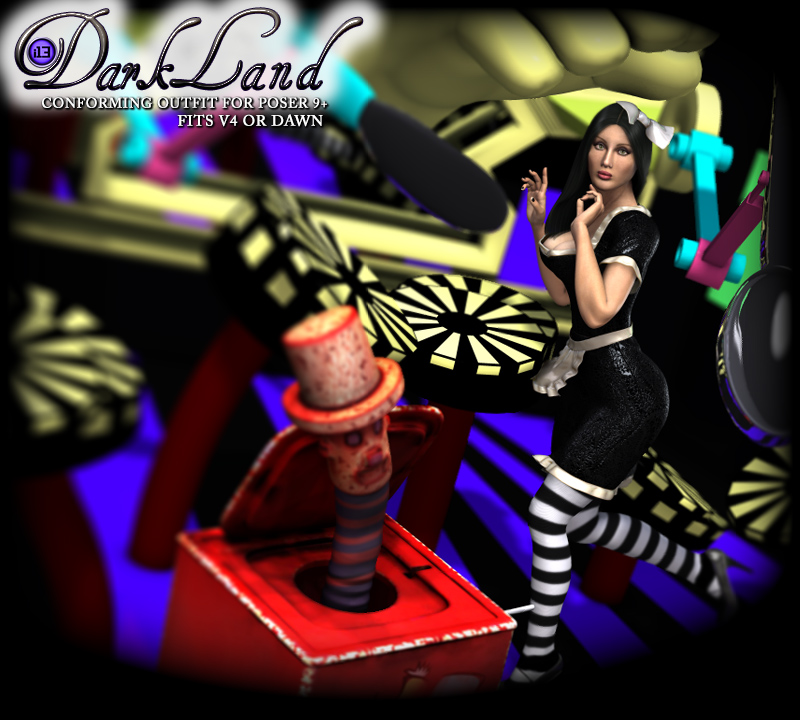 i13 DARKLAND clothing for V4 or Dawn by ironman13