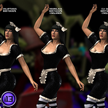 i13 DARKLAND clothing for V4 or Dawn image 2