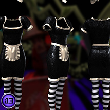 i13 DARKLAND clothing for V4 or Dawn image 4