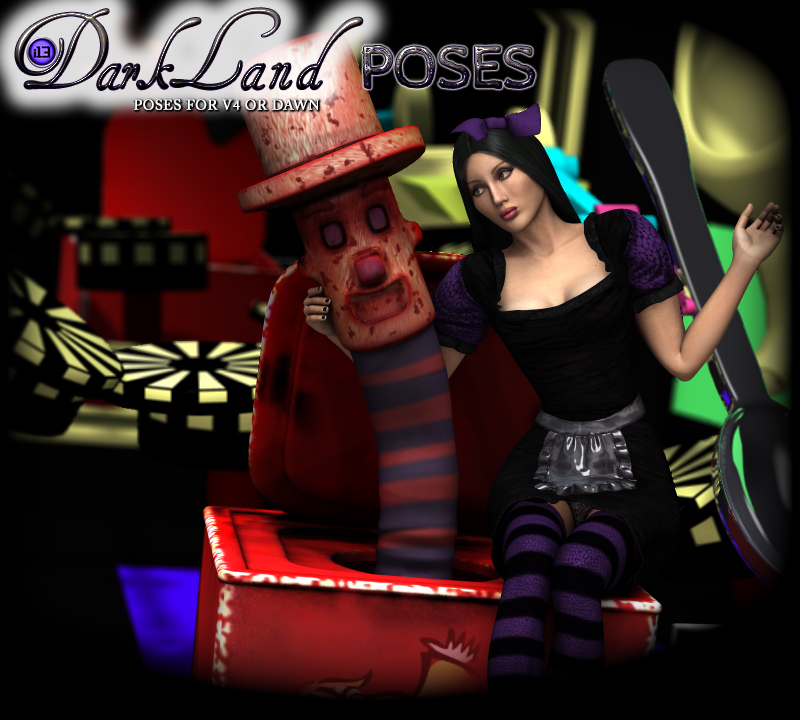i13 DARKLAND Poses for V4 or DAwn