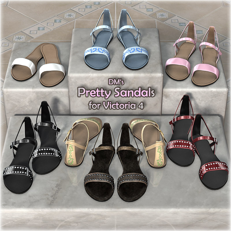 DM's Pretty Sandals for V4