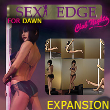 Y3DJLL SexyEdge ClubNights Expansion for Dawn 3D Figure Essentials Yanelis3D