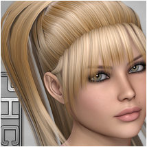 PHC : Levinda Hair Themed P3D-Art