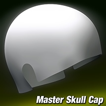 Master Skull Cap 3D Figure Assets 3Dream