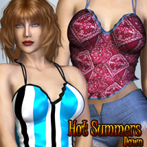 Hot Summers - Dawn Themed Clothing Footwear kaleya