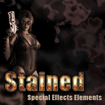 Stained special effects elements Themed 2D And/Or Merchant Resources TheToyman