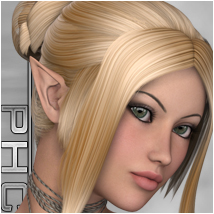 PHC : Whisper Themed Hair P3D-Art