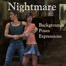 Nightmare Poses/Expressions 2D And/Or Merchant Resources Leije