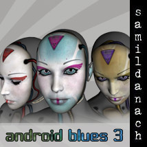 Android Blues 3 for V4 3D Figure Essentials _samildanach_