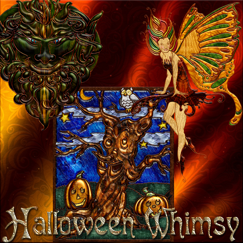 Harvest Moons Halloween Whimsy