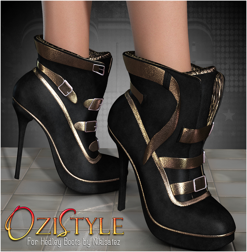 OziStyle: Hedley Boots