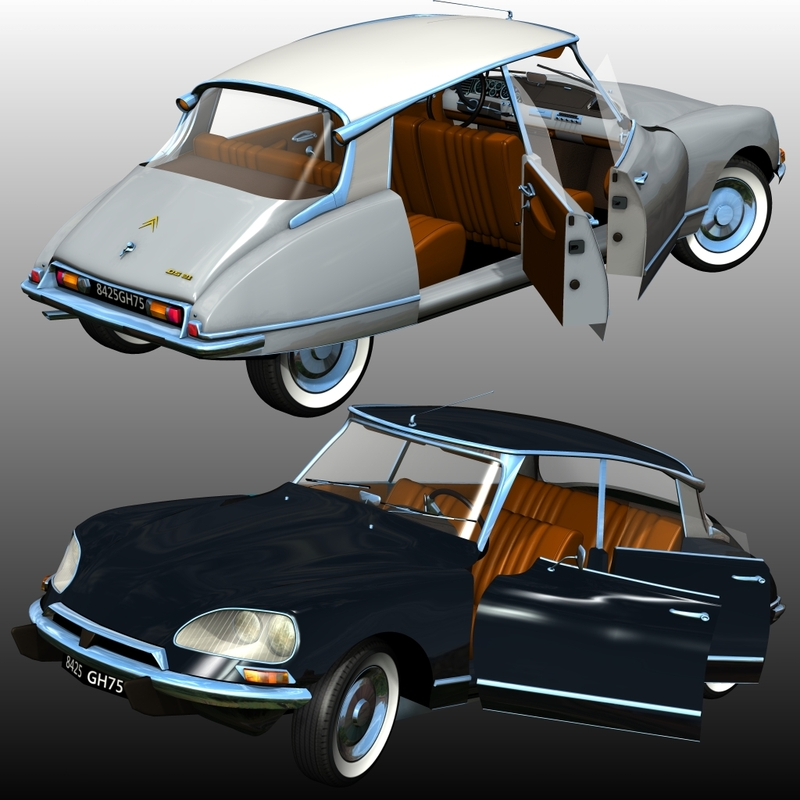 CITROEN DS 21 BERLINE (for Poser)