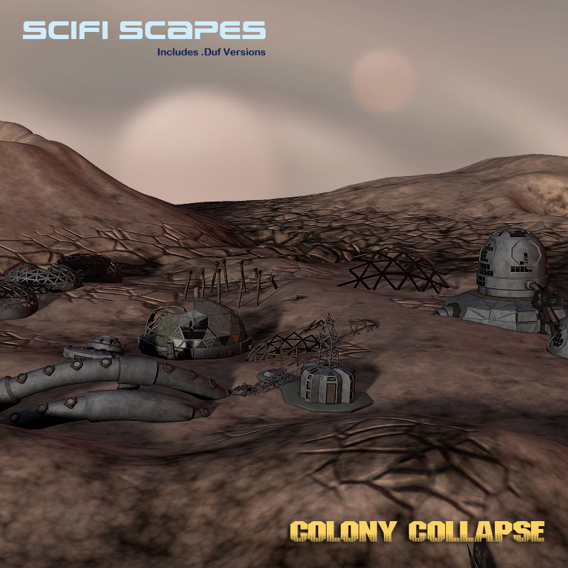 SciFi Scapes Colony