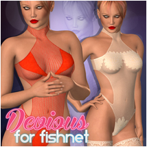 Devious for Fishnet Clothing Atenais