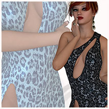 Seduce for Seductive Dress 3D Models 3D Figure Essentials Belladzines