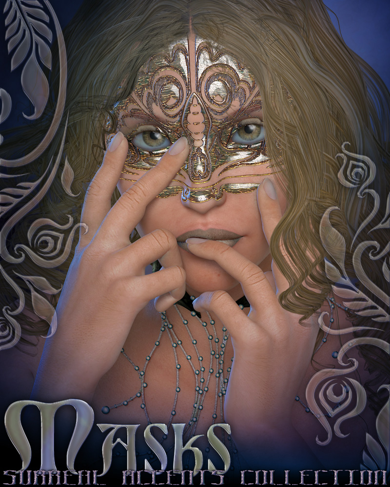 Surreal Accents Collection: Masks 1