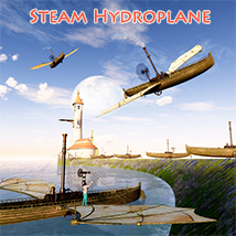 Steam Hydroplane 3D Models 1971s